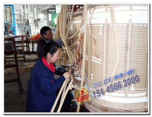 高压引线焊接