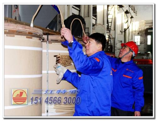 SZF11-40000-66-38.5 进入器身套装工序